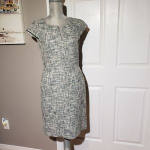MAXMARA tweed dress with pockets